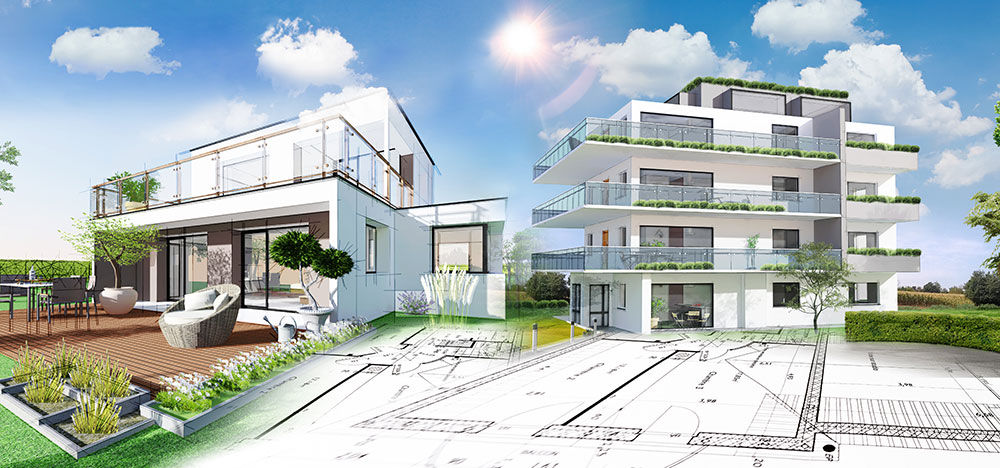 Illustrateur en architecture et immobilier